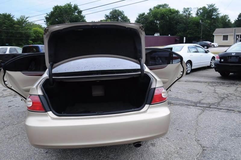 2003 Lexus ES 300 for sale at RICHARDSON MOTORS in Anderson SC