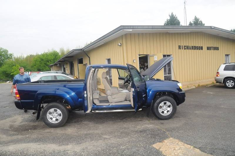 2008 Toyota Tacoma for sale at RICHARDSON MOTORS in Anderson SC