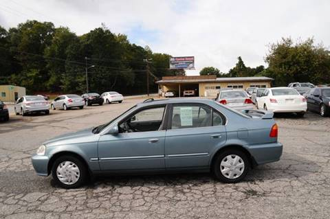 1999 Honda Civic for sale in Anderson, SC