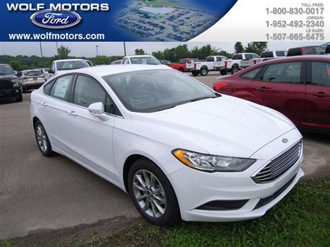 2017 Ford Fusion for sale in Jordan, MN