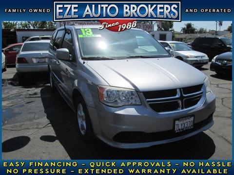 2013 Dodge Grand Caravan for sale in Orange, CA