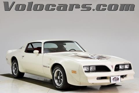 1977 Pontiac Trans Am for sale at VOLO Auto Museum in Volo IL