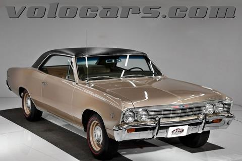 1967 Chevrolet Chevelle for sale at VOLO Auto Museum in Volo IL