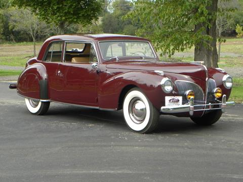 1941 Lincoln Continental for sale at VOLO Auto Museum in Volo IL