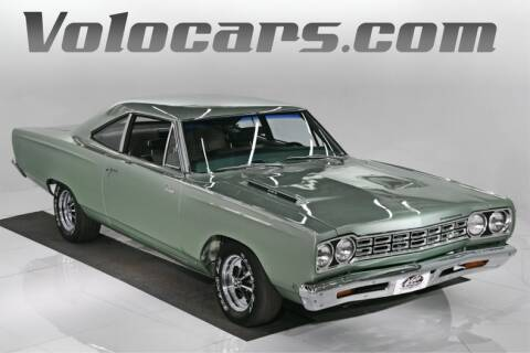 1968 Plymouth Roadrunner for sale at VOLO Auto Museum in Volo IL