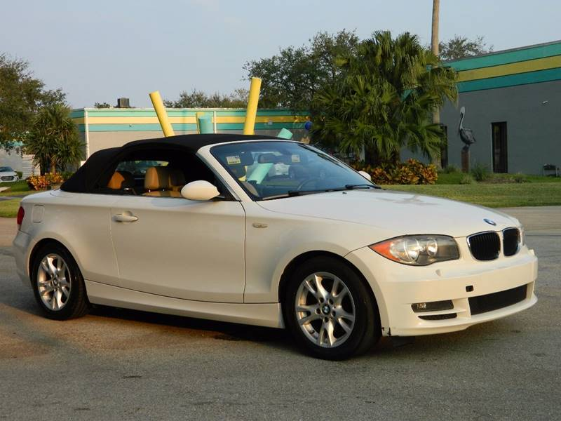 2008 Bmw 1 Series 128i 2dr Convertible SULEV In Davie FL - C&F Auto ...