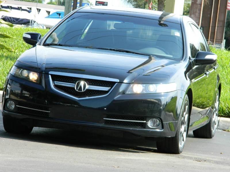 Acura Tl TypeS Dr Sedan A In Davie FL CF Auto Sales Inc - 08 acura tl type s for sale