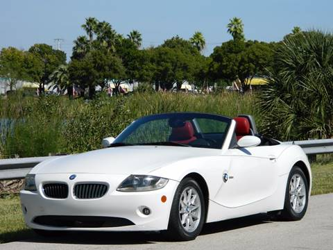 2005 BMW Z4 for sale in Davie, FL