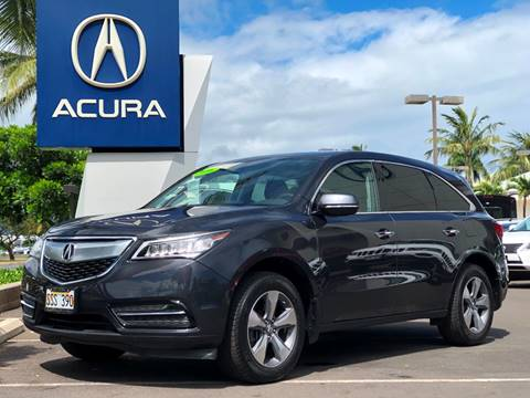 Acura MDX For Sale In Hawaii Carsforsalecom - Acura mdx for sale