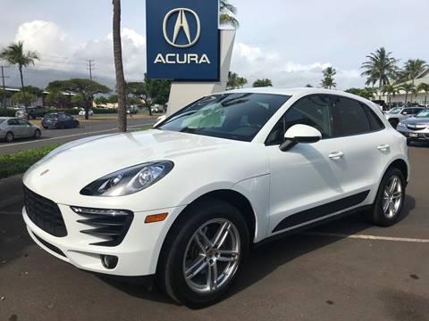 2017 Porsche Macan for sale in Kahului, HI