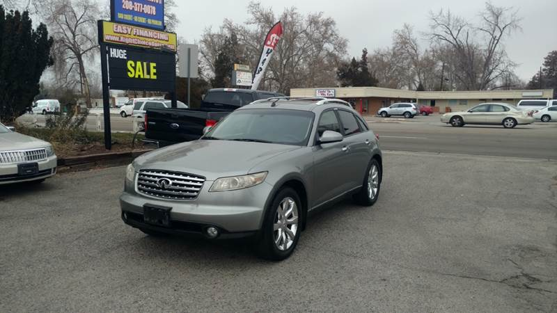 2004 infiniti fx35 awd 4dr suv in boise id right choice auto 2004 infiniti fx35 awd 4dr suv boise id sciox Images