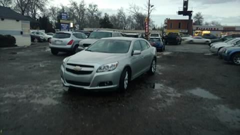 2013 Chevrolet Malibu for sale at Right Choice Auto in Boise ID