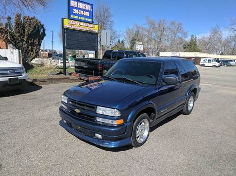 2002 Chevrolet Blazer for sale at Right Choice Auto in Boise ID