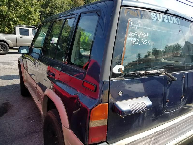 1998 Suzuki Sidekick 4dr Sport JLX 4WD SUV - Mount Carmel TN