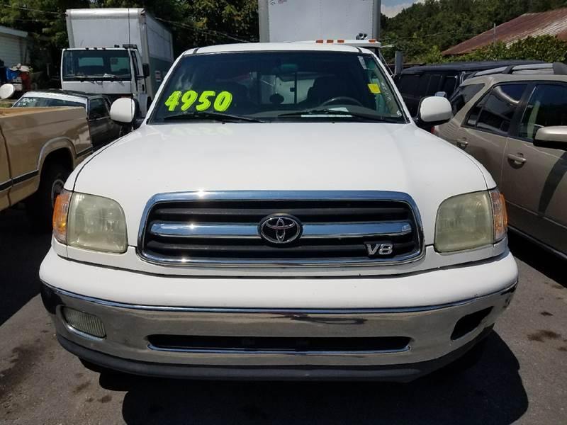 2002 Toyota Tundra 4dr Access Cab Limited 2WD SB V8 - Mount Carmel TN