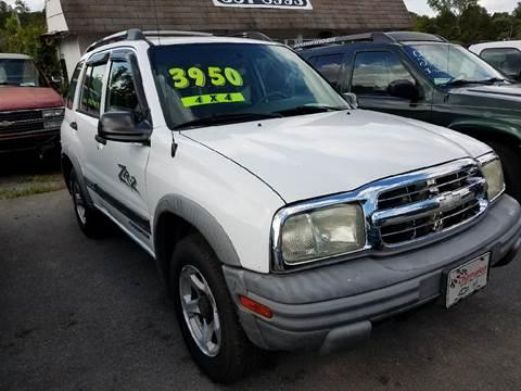 2002 Chevrolet Tracker for sale in Mount Carmel, TN
