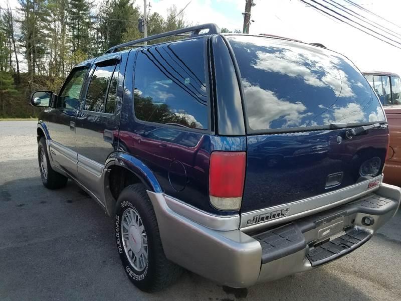 2001 GMC Jimmy SLE 4WD 4dr SUV - Mount Carmel TN