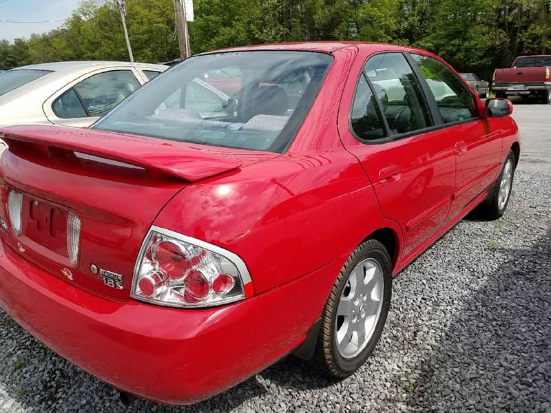2005 Nissan Sentra 1.8 S 4dr Sedan - Mount Carmel TN