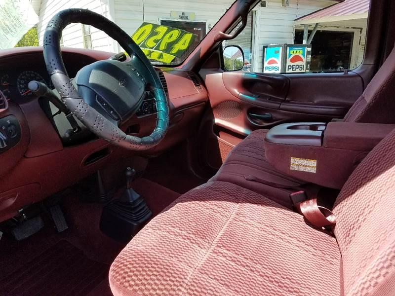 1997 Ford F-150 3dr XLT 4WD Extended Cab SB - Mount Carmel TN
