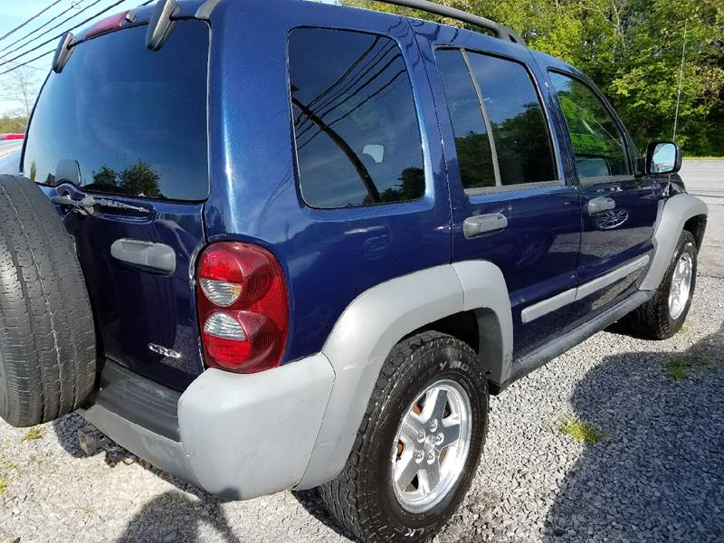 2006 Jeep Liberty Sport 4dr SUV 4WD w/ Front Side Curtain Airbags - Mount Carmel TN