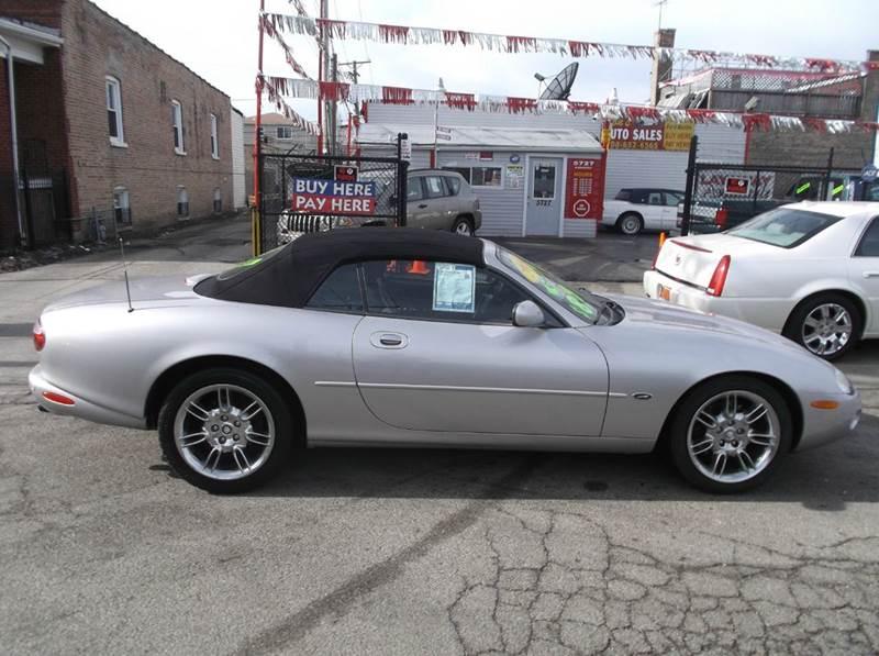 2001 Jaguar XK-Series XK8 2dr Convertible - Melrose Park IL