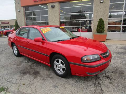 2003 Chevrolet Impala for sale in Cicero, IL