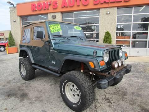 2000 Jeep Wrangler for sale in Cicero, IL
