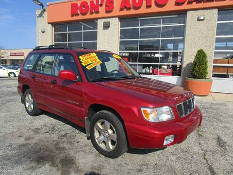 2002 Subaru Forester for sale in Cicero, IL