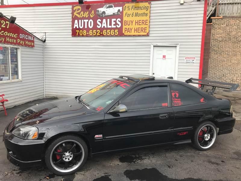 2000 Honda Civic EX 2dr Coupe   Cicero IL