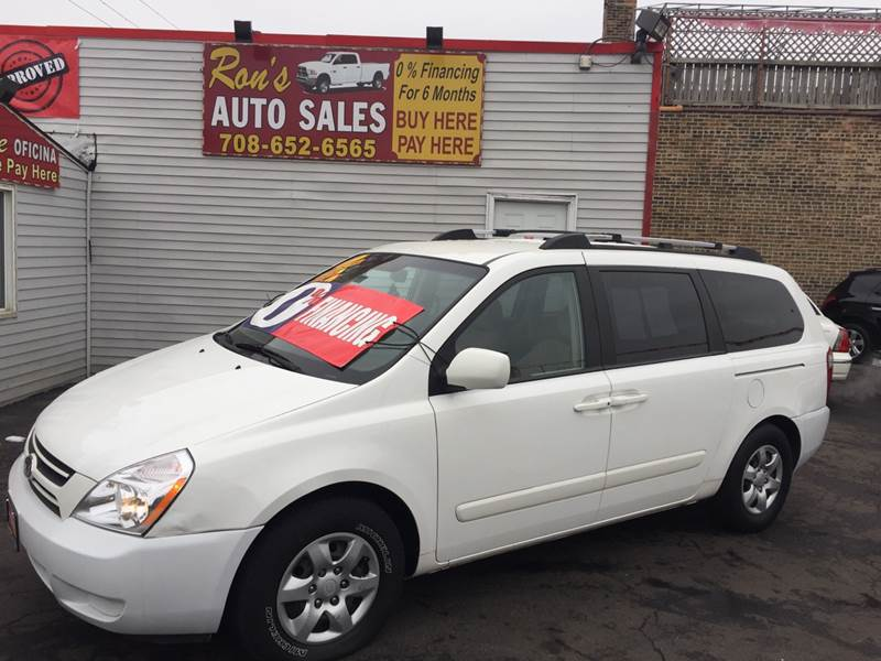 2007 Kia Sedona 4dr Minivan In Cicero Il Ron's Auto Sales Incrhronsautocars: 2007 Kia Sedona Spare Tire Location At Gmaili.net