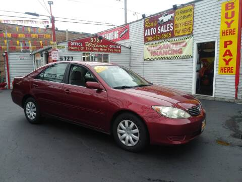2006 Toyota Camry for sale at RON'S AUTO SALES INC in Cicero IL