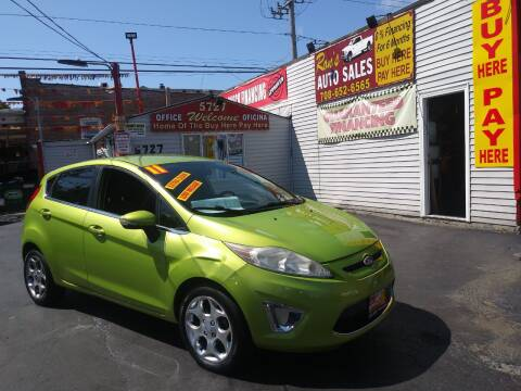 2011 Ford Fiesta for sale at RON'S AUTO SALES INC in Cicero IL