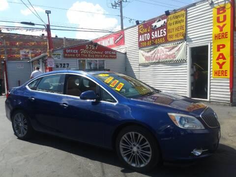 2013 Buick Verano for sale at RON'S AUTO SALES INC in Cicero IL
