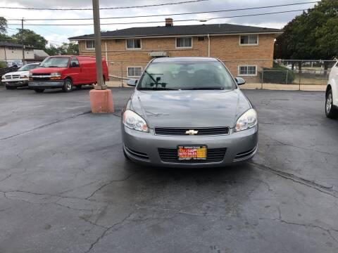 2008 Chevrolet Impala for sale at RON'S AUTO SALES INC in Cicero IL