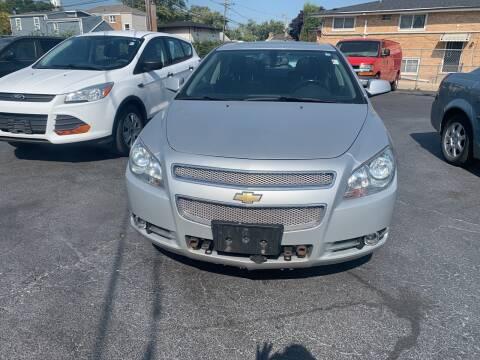 2012 Chevrolet Malibu for sale at RON'S AUTO SALES INC in Cicero IL