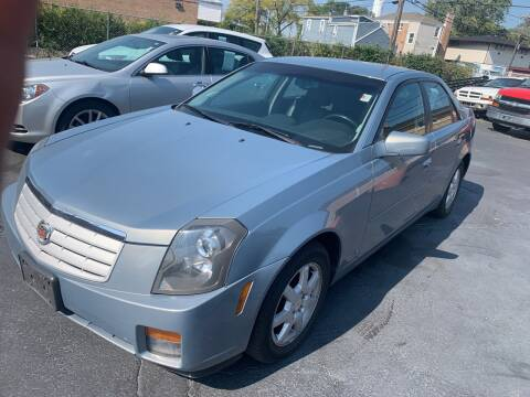 2007 Cadillac CTS for sale at RON'S AUTO SALES INC in Cicero IL