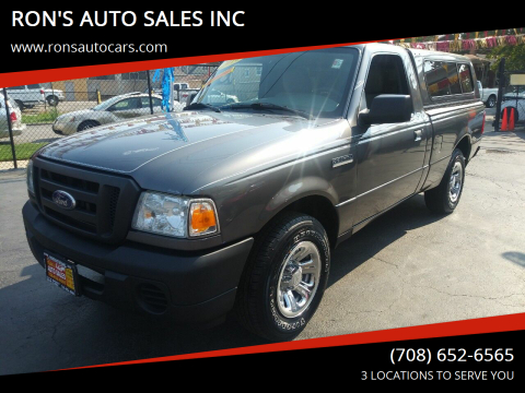 2010 Ford Ranger for sale at RON'S AUTO SALES INC in Cicero IL
