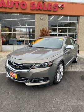 2017 Chevrolet Impala for sale at RON'S AUTO SALES INC - MAYWOOD in Maywood IL