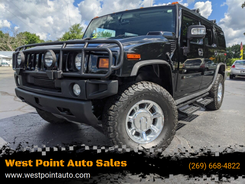 2006 HUMMER H2 for sale at West Point Auto Sales in Mattawan MI