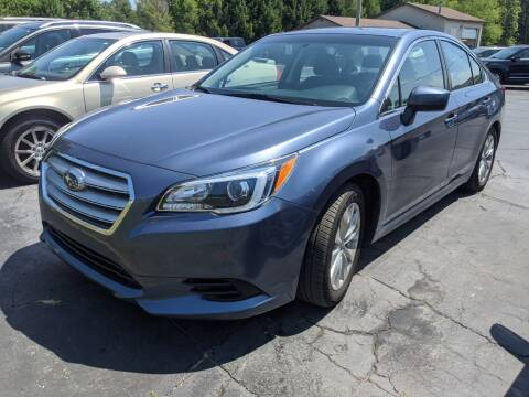 2017 Subaru Legacy for sale at West Point Auto Sales in Mattawan MI