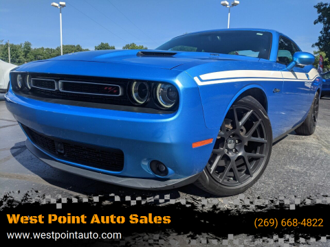 2015 Dodge Challenger for sale at West Point Auto Sales in Mattawan MI