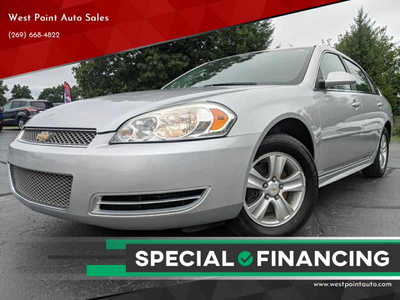 2013 Chevrolet Impala for sale at West Point Auto Sales in Mattawan MI