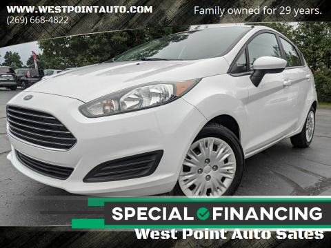 2016 Ford Fiesta for sale at West Point Auto Sales in Mattawan MI