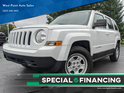 2011 Jeep Patriot for sale at West Point Auto Sales in Mattawan MI