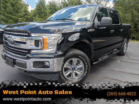 2018 Ford F-150 for sale at West Point Auto Sales in Mattawan MI