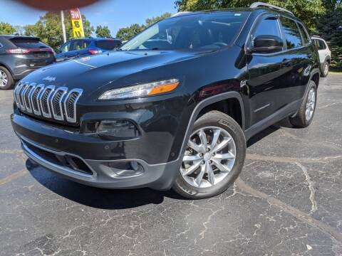 2017 Jeep Cherokee for sale at West Point Auto Sales in Mattawan MI