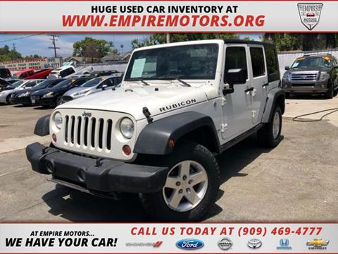 2010 Jeep Wrangler Unlimited for sale in Montclair, CA