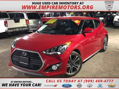 Used Car Dealerships In Montgomery Al >> 2016 Hyundai Veloster Turbo For Sale In Montclair Ca