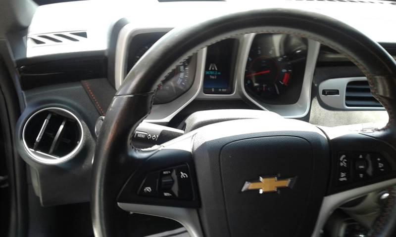 2015 Chevrolet Camaro for sale at CHAVIRA MOTORS in El Paso TX
