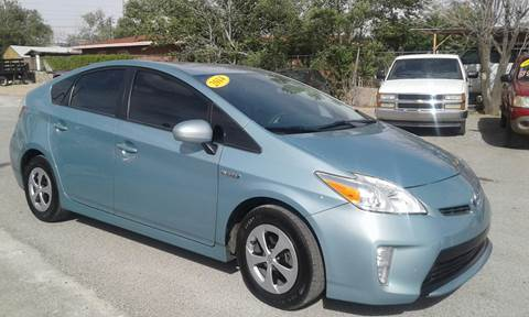 2014 Toyota Prius for sale at CHAVIRA MOTORS in El Paso TX